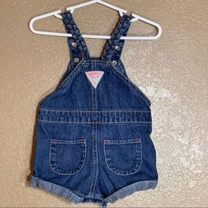 OshKosh B'gosh Bottoms - Oshkosh B'Gosh baby girl Jean overalls